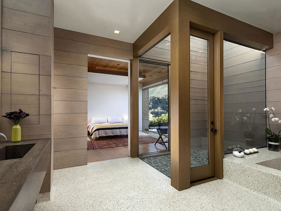 747 Toro Canyon House   Ngôi nhà hiện đại nằm trên sườn đồi qpdesign