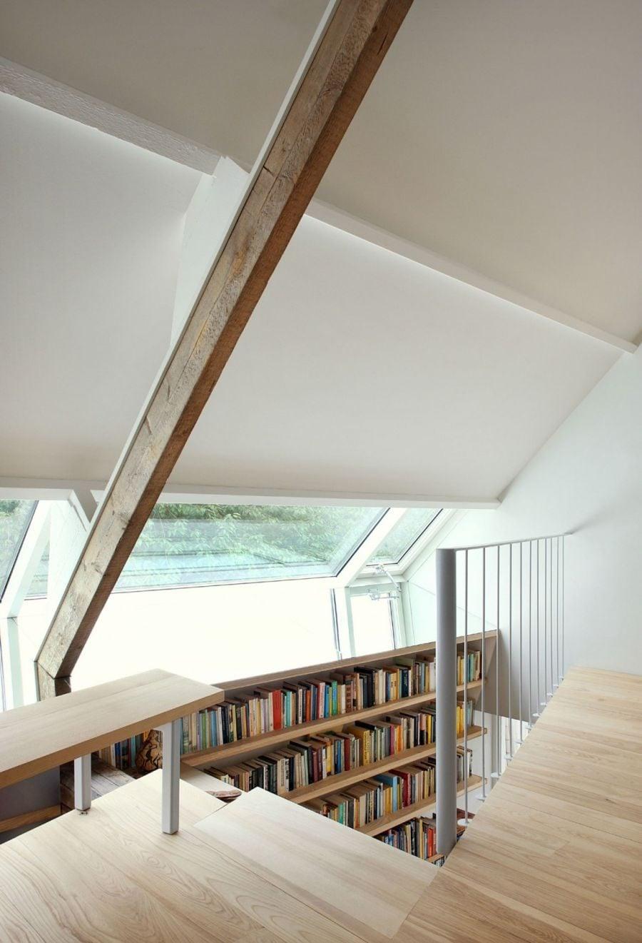 814 House G Ngôi nhà đẹp và ấn tượng được cải tạo từ một kho thóc cũ qpdesign
