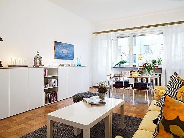 Ấn tượng với căn hộ diện tích chỉ 56m2 nhưng vẫn xinh đẹp và tiện nghi