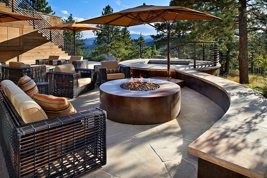 844 Eberl Residence   Biệt thự nghỉ dưỡng sử dụng đá làm vật liệu chính qpdesign