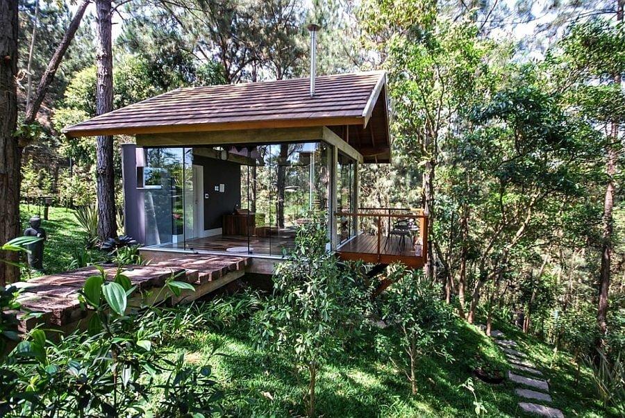 846 Thiết kế nhà ở hiện đại nhưng vẫn phù hợp với cảnh quan qpdesign
