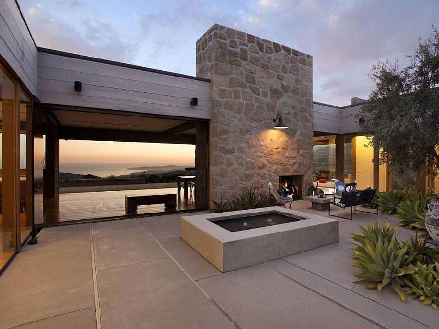 847 Toro Canyon House   Ngôi nhà hiện đại nằm trên sườn đồi qpdesign
