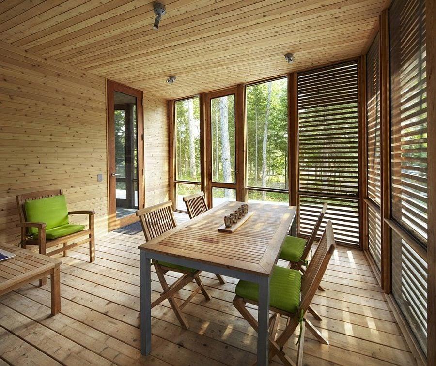 ngôi nhà gỗ hiện đại  9