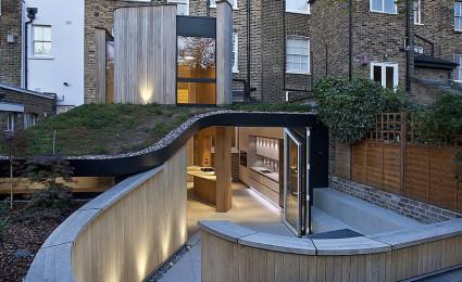 Kiến trúc xoắn ốc độc đáo của ngôi nhà đoạt giải thưởng tại London
