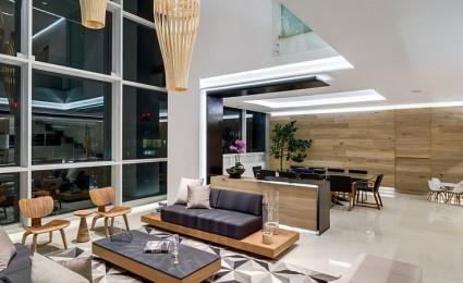 Căn hộ penthouse sang trọng với tầm nhìn toàn bộ thành phố Mexico