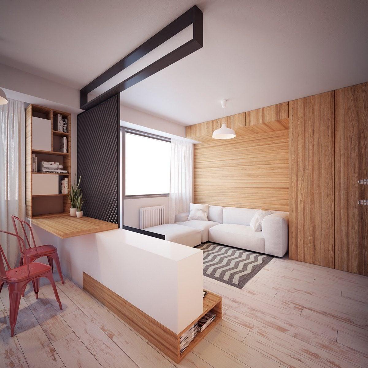 mẫu căn hộ siêu nhỏ 11
