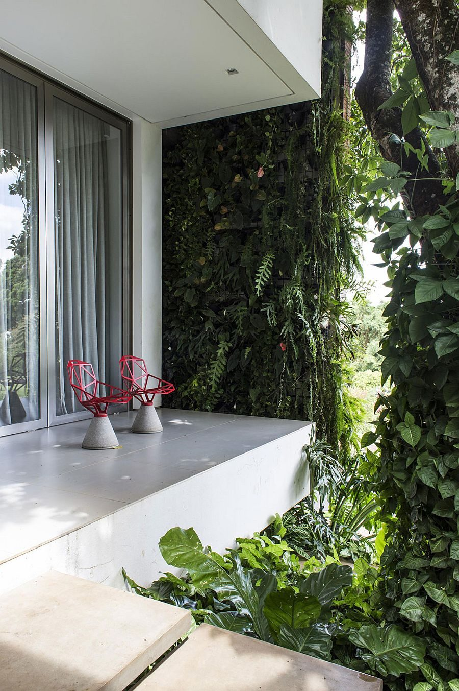 112 RMJ Residence   Ngôi nhà với nhiều không gian xanh tại Brazil qpdesign