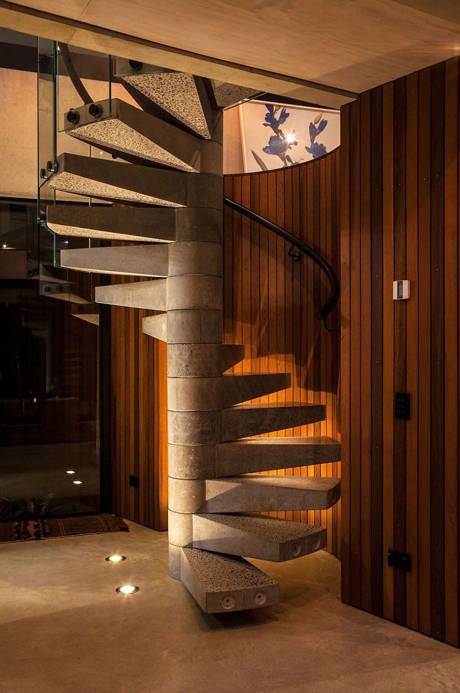 119 Ngôi nhà phong cách công nghiệp với kính, thép là vật liệu chính qpdesign