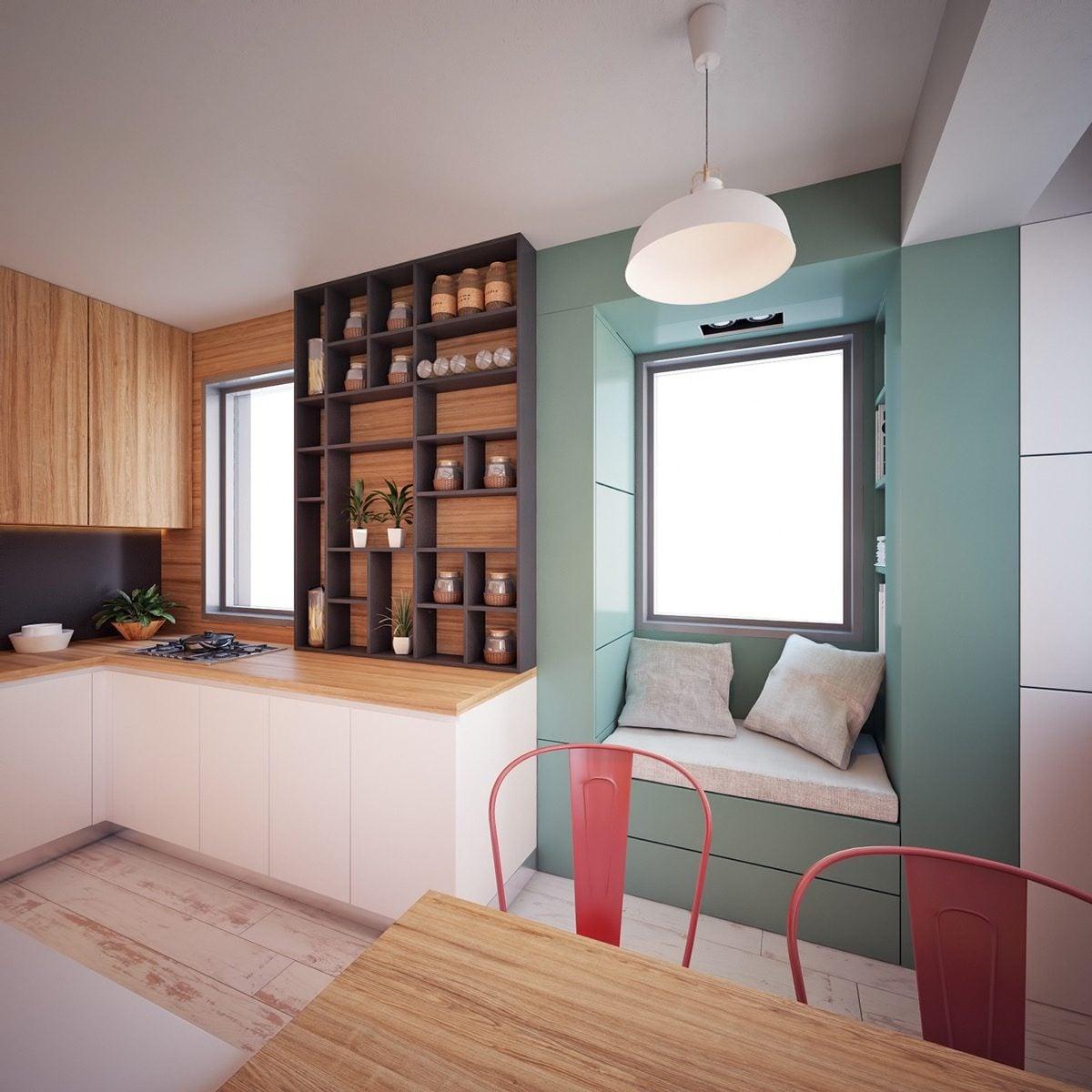 mẫu căn hộ siêu nhỏ 12