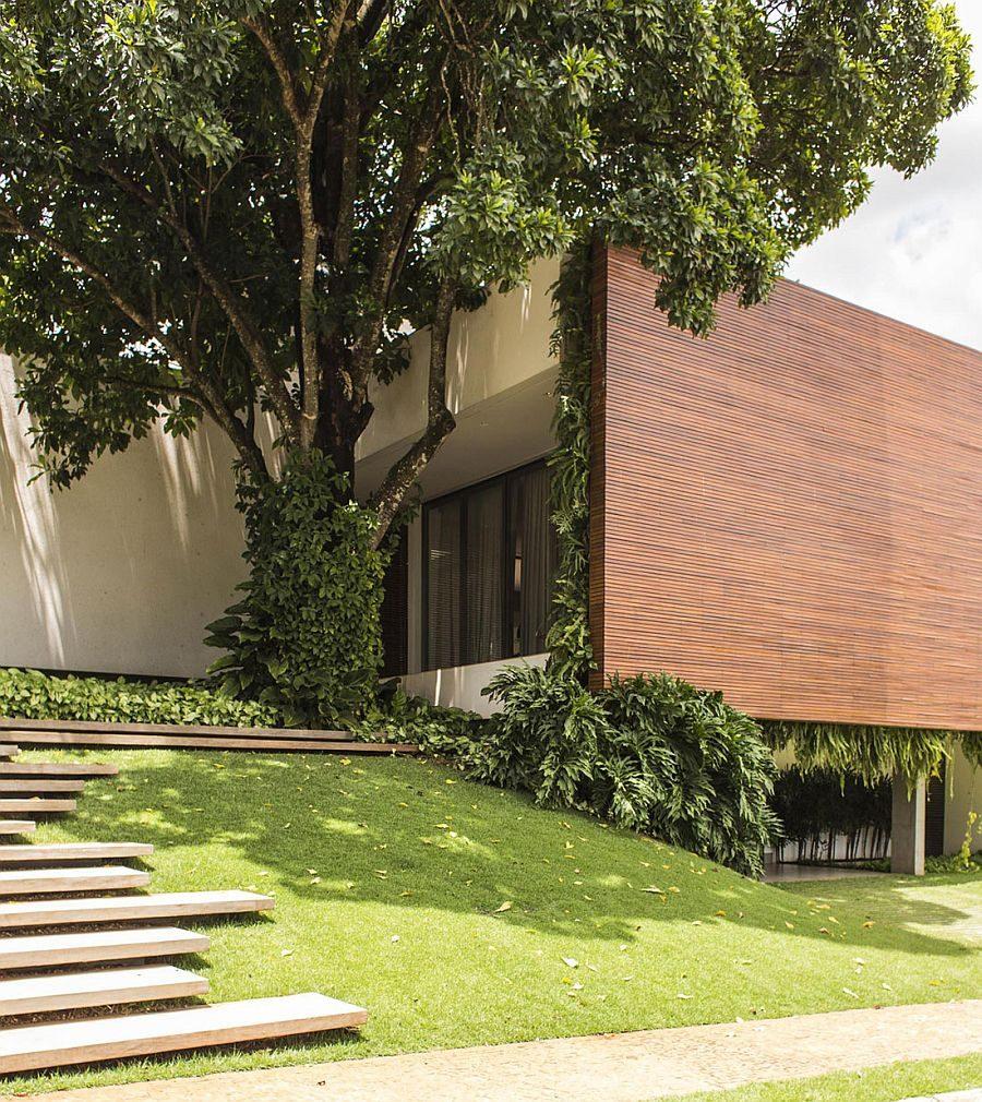 122 RMJ Residence   Ngôi nhà với nhiều không gian xanh tại Brazil qpdesign