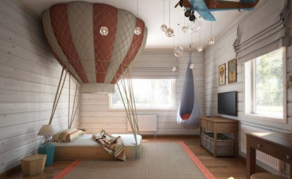 4 thiết kế phòng ngủ đáng yêu cho con bạn