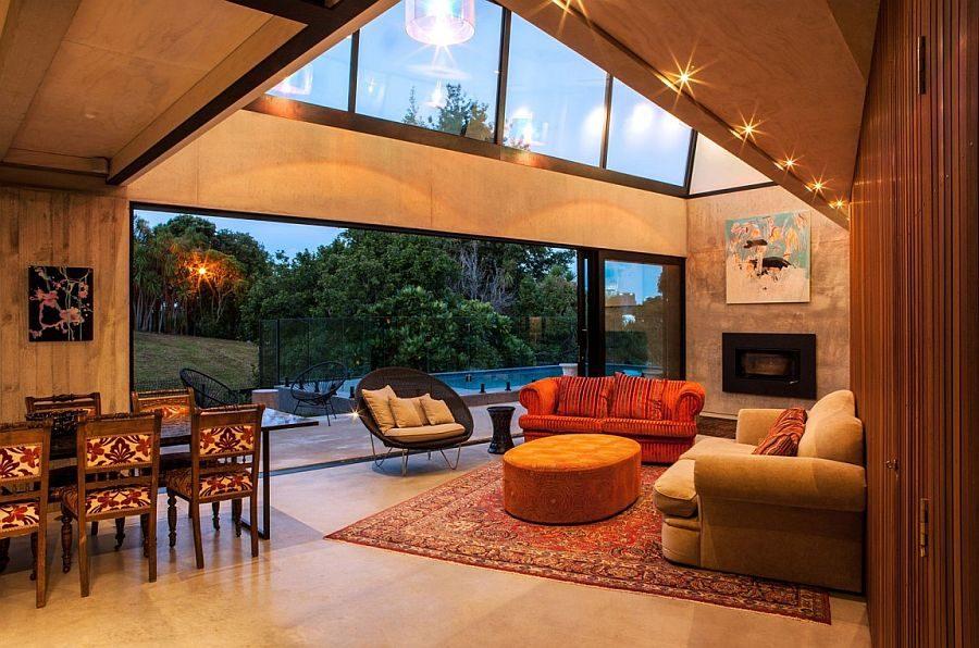 162 Ngôi nhà phong cách công nghiệp với kính, thép là vật liệu chính qpdesign