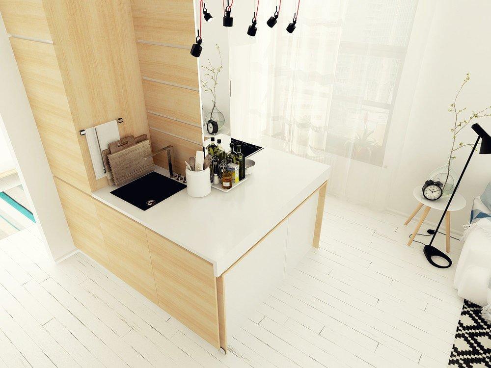 4 mẫu căn hộ siêu nhỏ nhưng vẫn tuyệt đẹp và tiện nghi