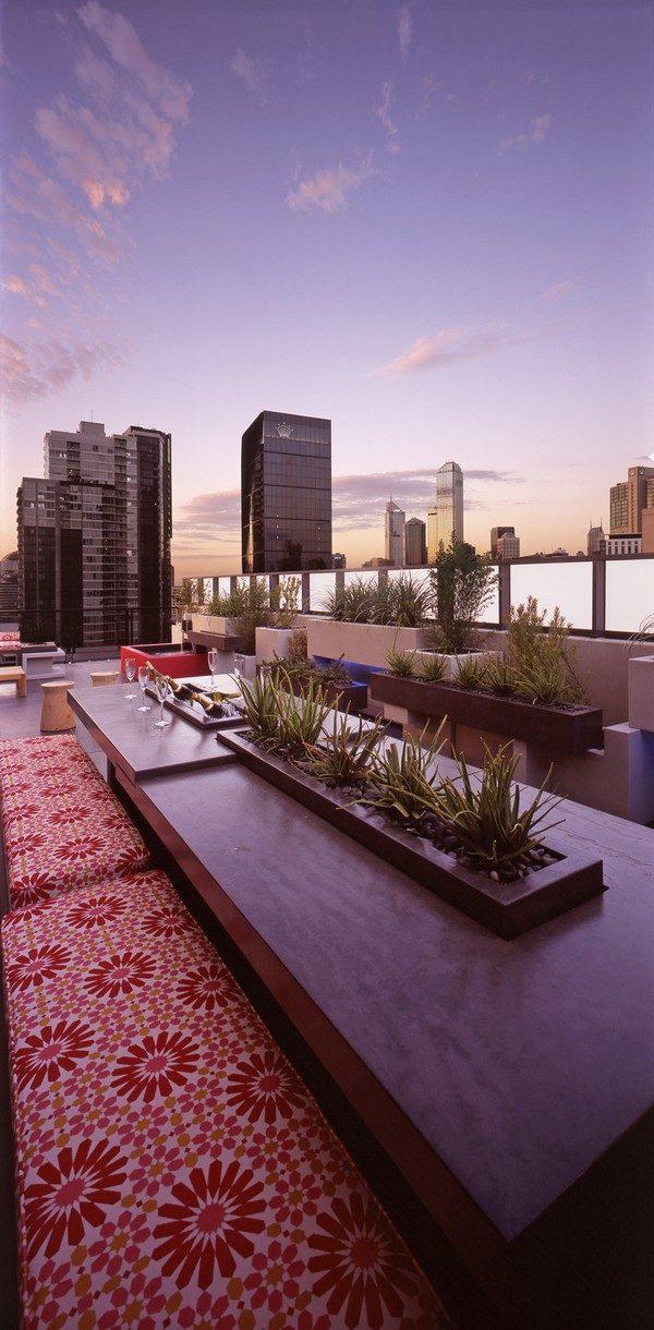 44 Căn hộ penthouse cá tính với khu vườn tuyệt đẹp tại Úc qpdesign