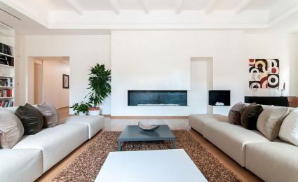 Căn hộ tại Ý với lối thiết kế lãng mạn và hiện đại
