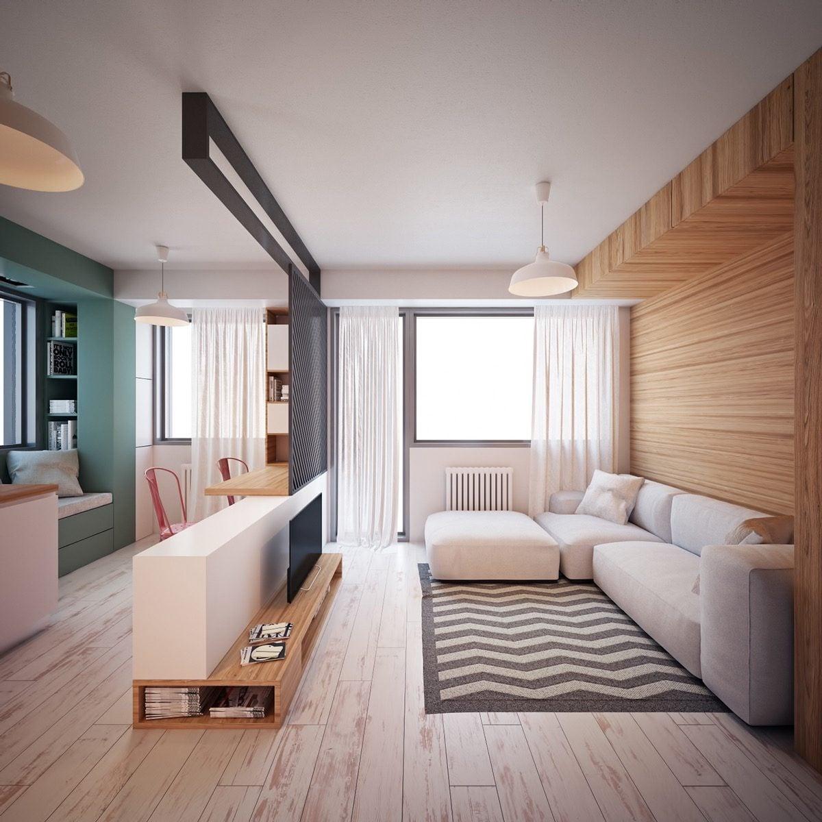 mẫu căn hộ siêu nhỏ 9