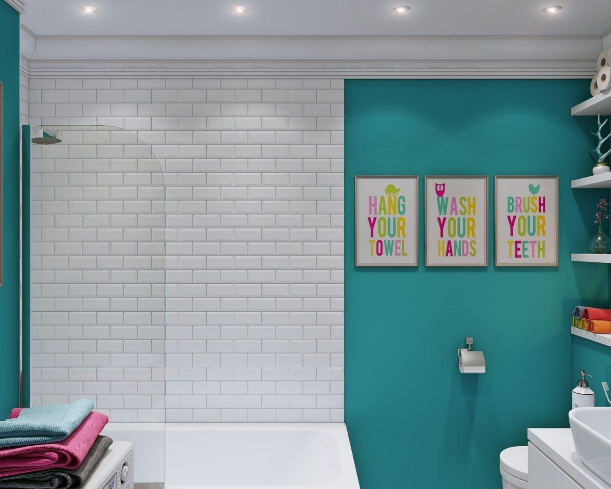 adorable bathroom design 4 mẫu nội thất cho nhà ở có diện tích nhỏ qpdesign
