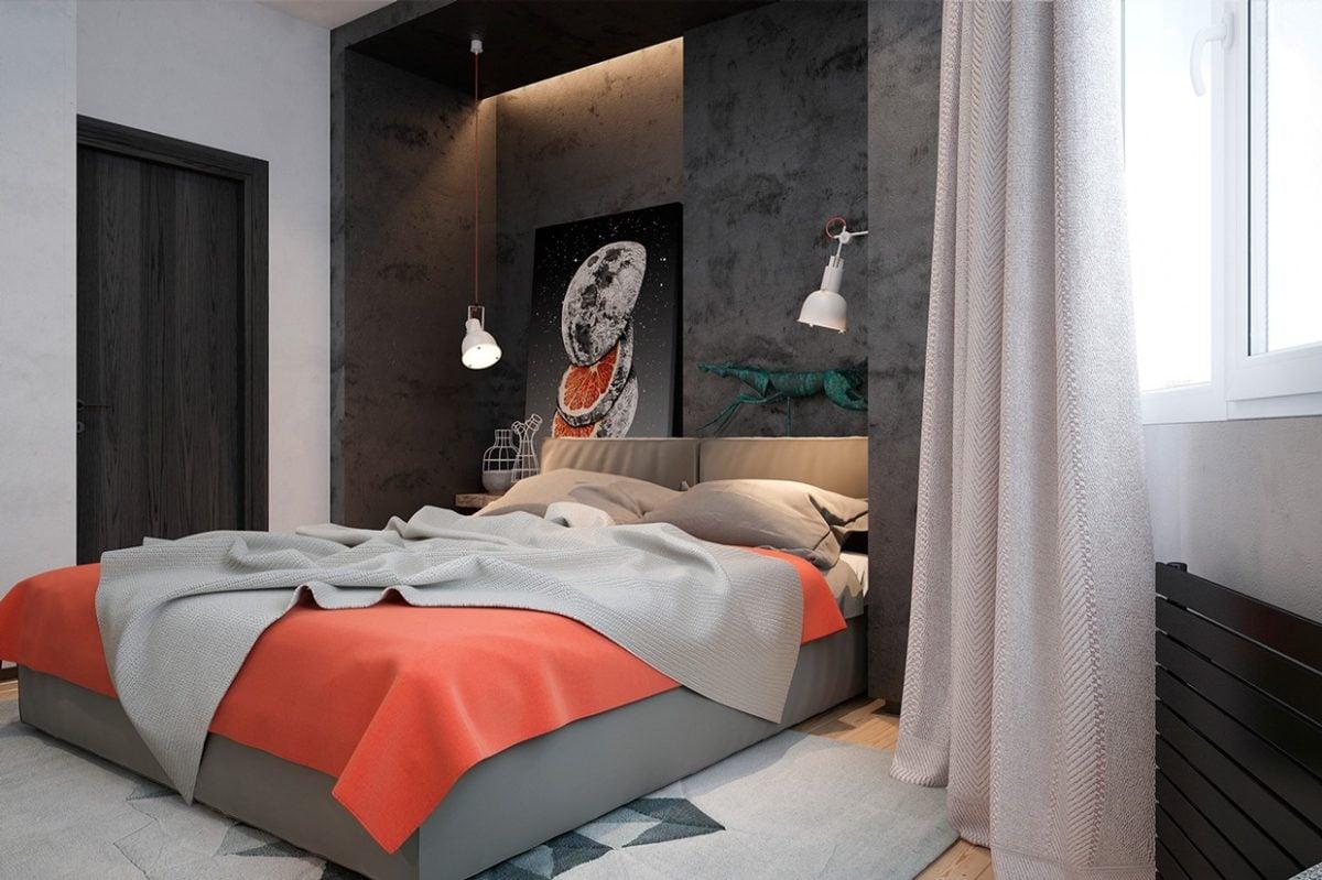 coral-bedspread