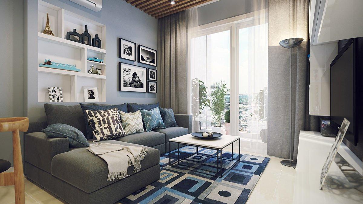 cozy apartment ideas 4 mẫu nội thất cho nhà ở có diện tích nhỏ qpdesign