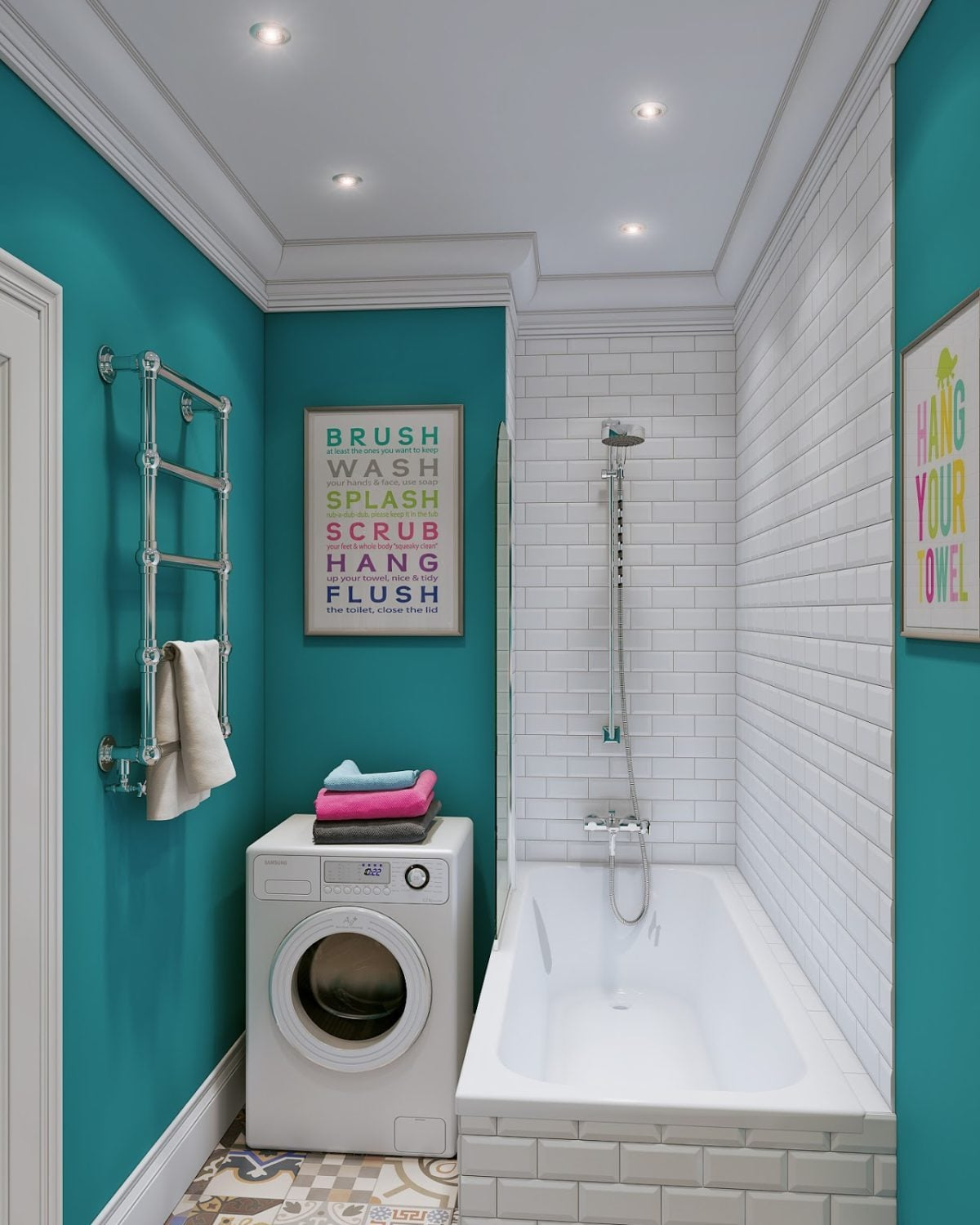 cute-laundry-room
