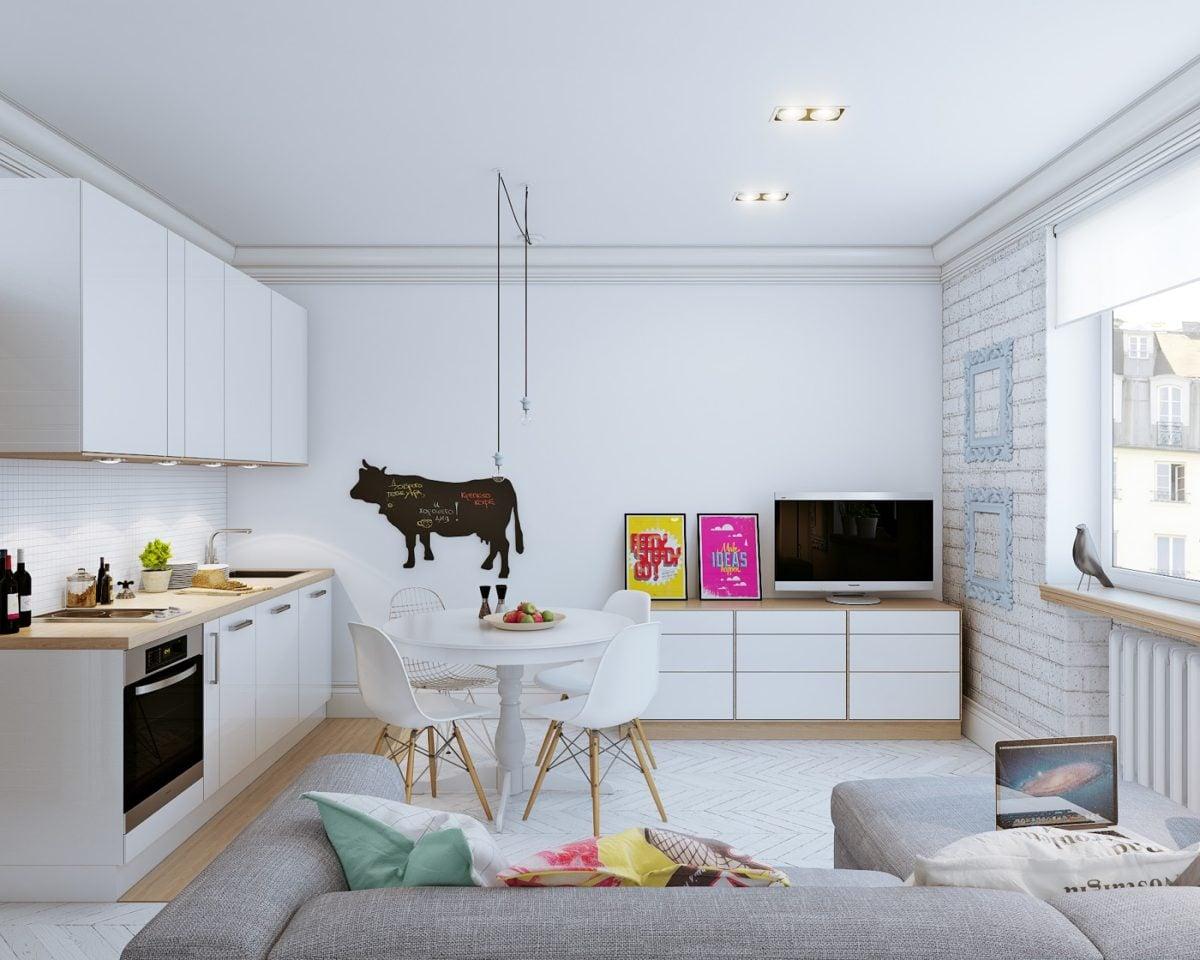 kitchen decor 4 mẫu nội thất cho nhà ở có diện tích nhỏ qpdesign