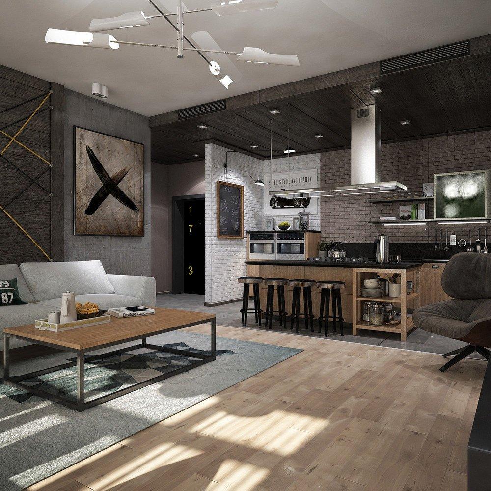 mẫu căn hộ độc đáo 1