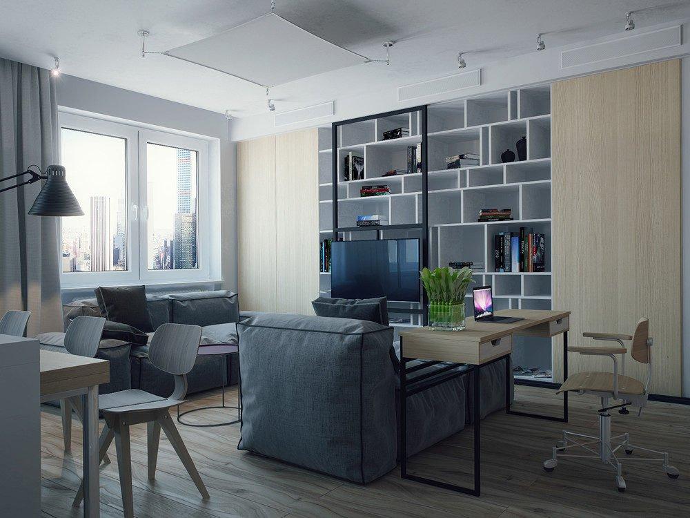 mẫu căn hộ độc đáo 16