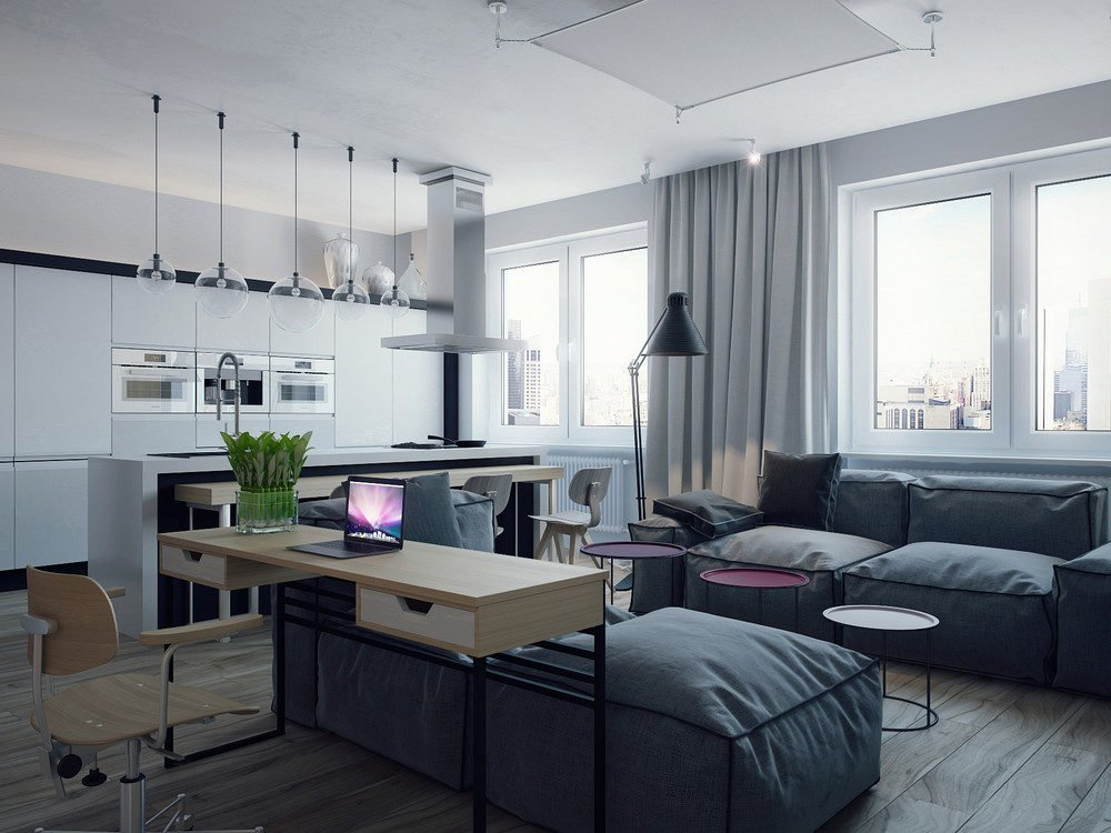 mẫu căn hộ độc đáo 18