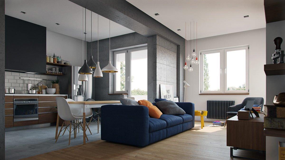mẫu căn hộ độc đáo 23