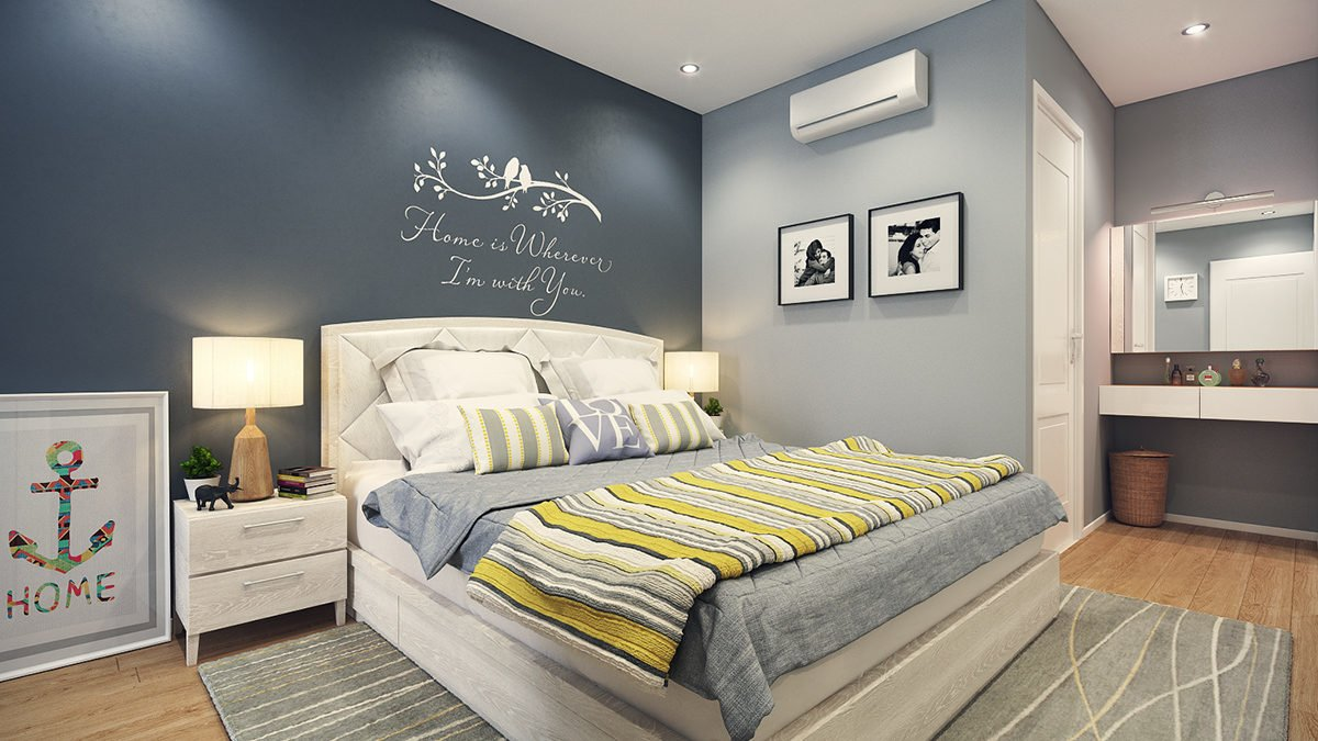 newlywed bedroom design 4 mẫu nội thất cho nhà ở có diện tích nhỏ qpdesign