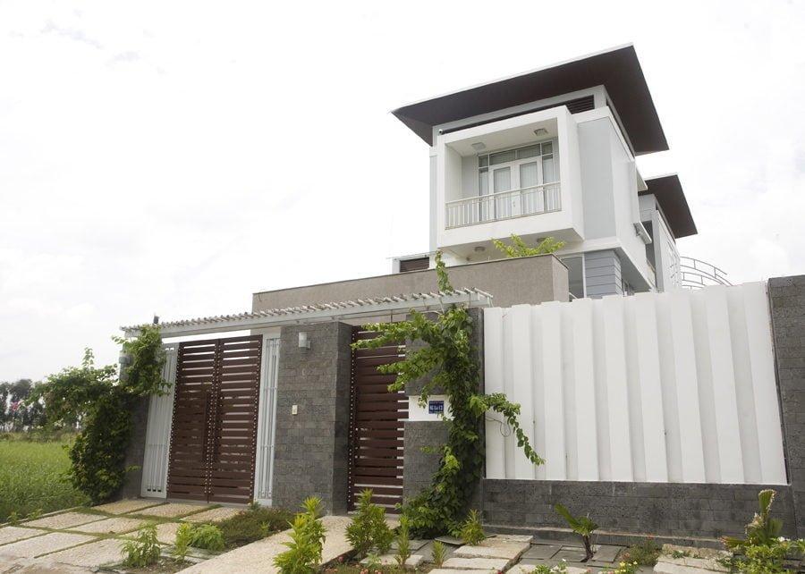thiết kế biệt thự thoải mái và tiện nghi tại Bình Dương .
