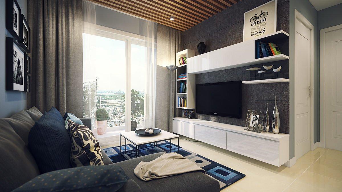 simple apartment design 4 mẫu nội thất cho nhà ở có diện tích nhỏ qpdesign
