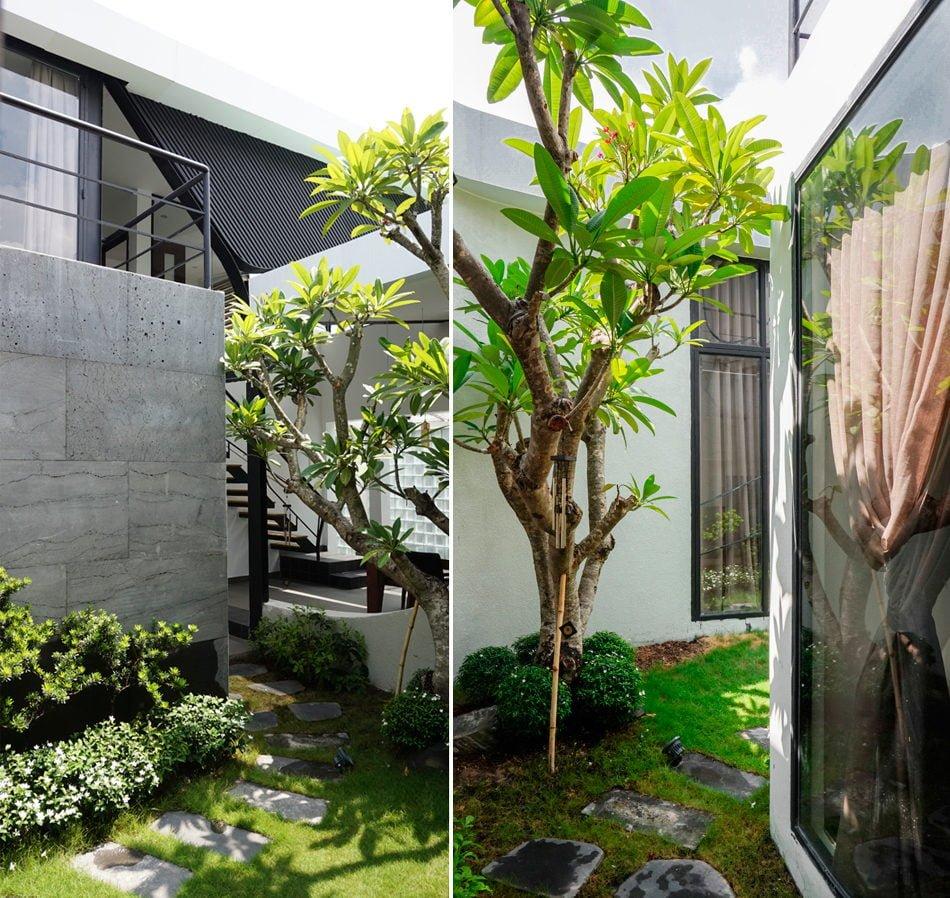 10 1444380836 1200x0 Nhà phố trong hẻm Sài Gòn với vườn cây xanh mát qpdesign