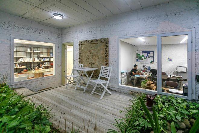 10 Cải tạo nhà 3 tầng thành khu vườn xanh mướt qpdesign