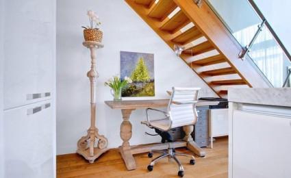 8 cách tận dụng triệt để gầm cầu thang