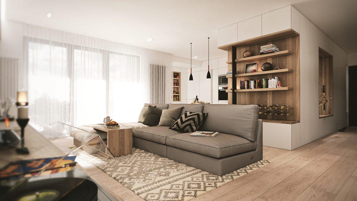 11armless sofa 3 mẫu nhà với thiết kế chất liệu gỗ độc đáo qpdesign