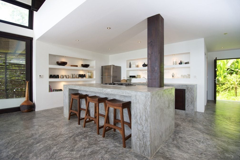 12Concrete-kitchen-island-countertops