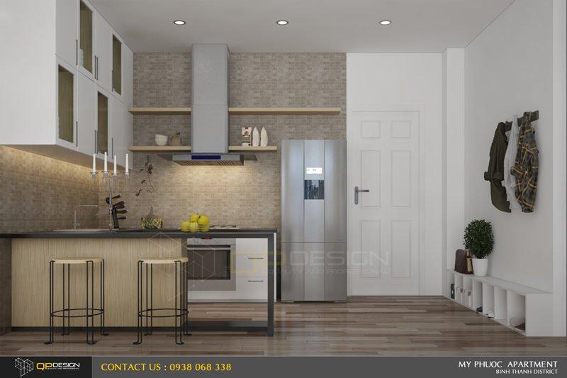 134 Thiết kế nội thất căn hộ chung cư Mỹ Phước 85m2 qpdesign