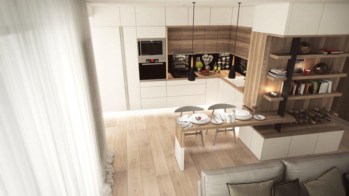 13creative wood panel cabinets 3 mẫu nhà với thiết kế chất liệu gỗ độc đáo qpdesign