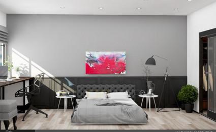 Thiết kế nội thất căn hộ chung cư Mỹ Phước 85m2