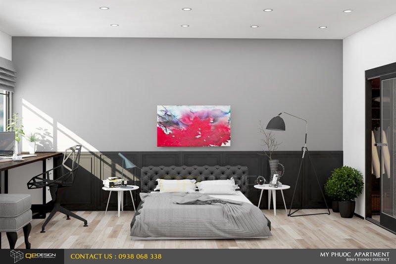 172 Thiết kế nội thất căn hộ chung cư Mỹ Phước 85m2 qpdesign