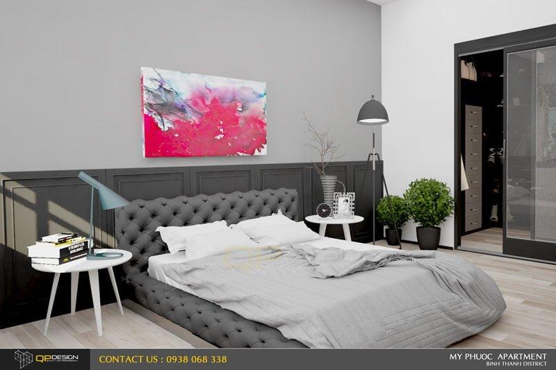 182 Thiết kế nội thất căn hộ chung cư Mỹ Phước 85m2 qpdesign