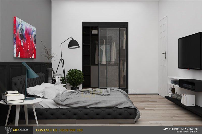 192 Thiết kế nội thất căn hộ chung cư Mỹ Phước 85m2 qpdesign