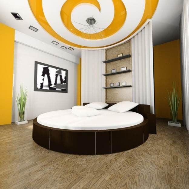 1img20150905104212937 Phá cách cho phòng ngủ với trần thạch cao qpdesign