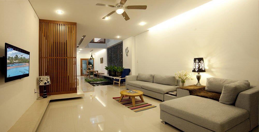 Nhà ống 2 tầng với thiết kế đơn giản tại Đà Nẵng