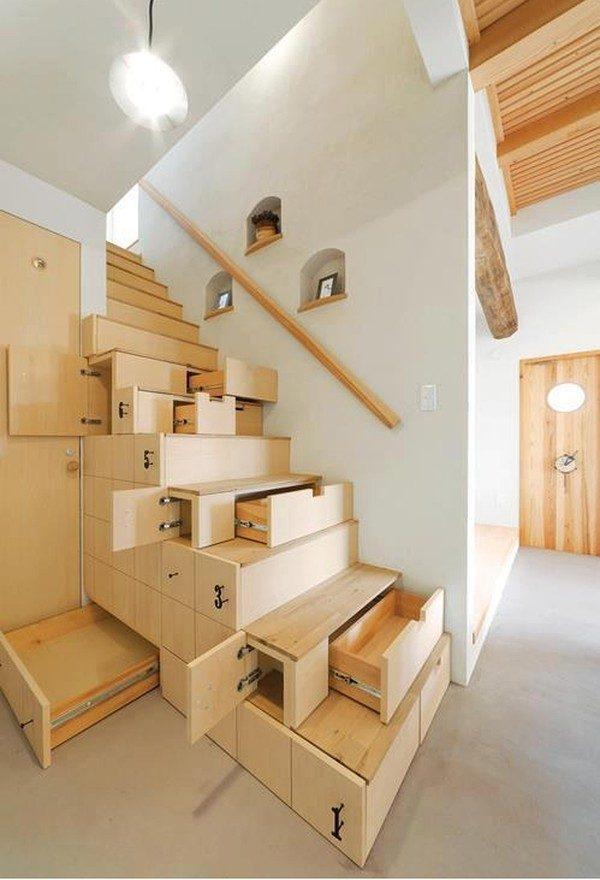 20gam cau thang 1 8 cách tận dụng triệt để gầm cầu thang qpdesign