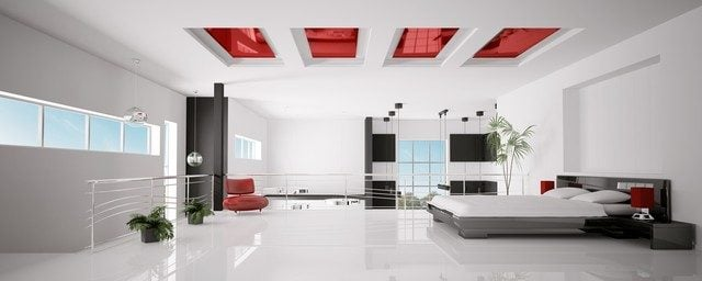 2img20150905104213202 Phá cách cho phòng ngủ với trần thạch cao qpdesign