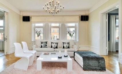 29 mẫu phòng khách phong cách Scandinavia