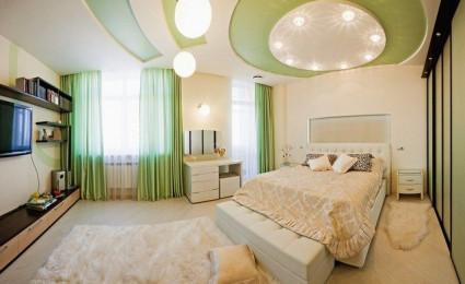 Phá cách cho phòng ngủ với trần thạch cao