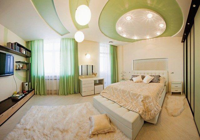 3img20150905104213405 Phá cách cho phòng ngủ với trần thạch cao qpdesign